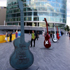 Gibson Guitar Town London designed with Robert Plant and executed by Mauricio Ortiz